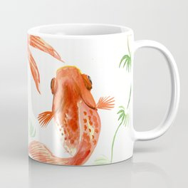 Koi Fish, Feng Shui, Goldfish art, Two fish, Coffee Mug