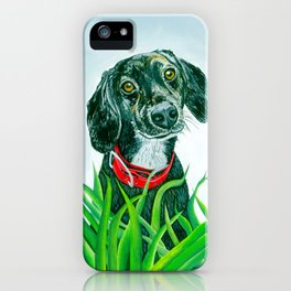 Dog Painting iPhone Case