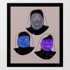 Creatures of Habit Art Print