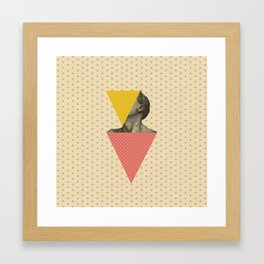 Body and Geometrics  Framed Art Print