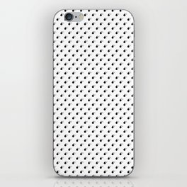 BLACK BOMB DIGGITYS ALL OVER SMALL iPhone Skin