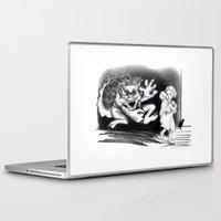 nightmare Laptop & iPad Skins featuring Nightmare by Michelle Behar