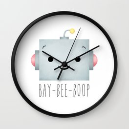 Baby Robot Wall Clock