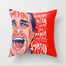 American Mayhem Throw Pillow