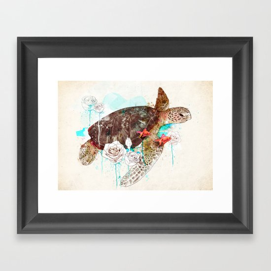 Tortuga Framed Art Print