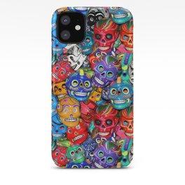 Calaveras Pequeñas - Little Sugar Skulls iPhone Case