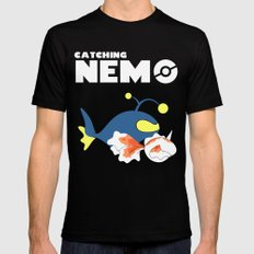 Nemo, I choose you! Black SMALL Mens Fitted Tee