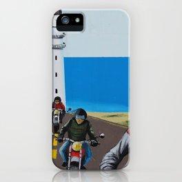 Biker Tour Mural Ibiza iPhone Case