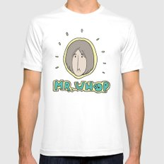 Hype Man Mens Fitted Tee MEDIUM White