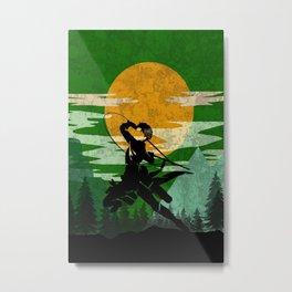 Eren - Attack on Titan Metal Print
