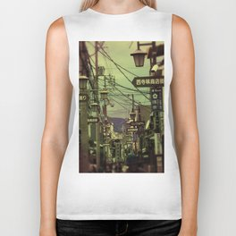 Wired City Biker Tank