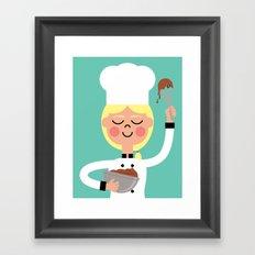 It's Whisk Time! Framed Art Print