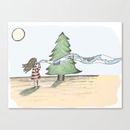 Ssst... Canvas Print