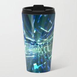 Sapphire Tunnels Travel Mug