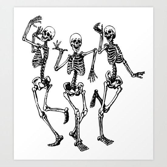 Three Dancing Skulls by denzhu