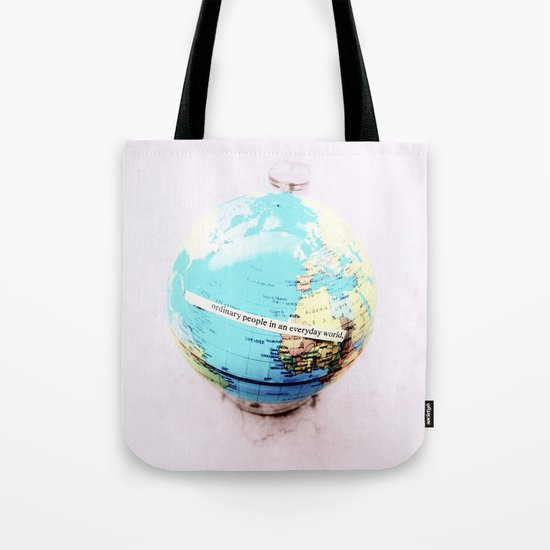 Ordinary People Tote Bag