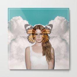 Lana Del Fly Metal Print