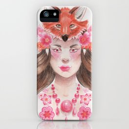 Jex Foxtrot iPhone Case