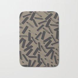 3D X Pattern Bath Mat