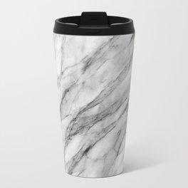 Carrara Marble Travel Mug