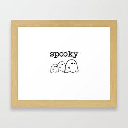 Spooky Ghost  Framed Art Print