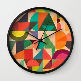 Color Field Wall Clock