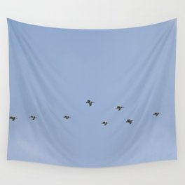 Pelicans Wall Tapestry