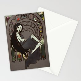 Queen of Darkness Stationery Cards