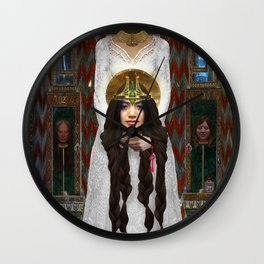 Princess Langwidere of the Land of Ev Wall Clock