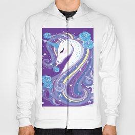 Magical Unicorn in Purple Sky Hoody