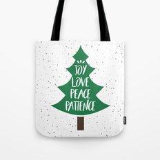 Tree of Christmas Present Tote Bag