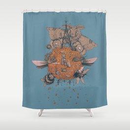 La machine volante Shower Curtain