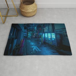 Midnight in Tokyo Light up by Vending Machine Rug