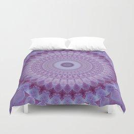 Lilac Mandala Duvet Cover