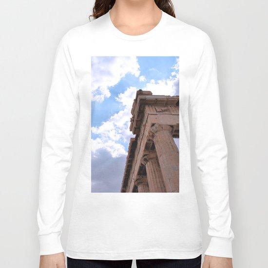 Sky above Parthenon Long Sleeve T-shirt