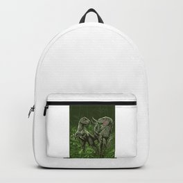 Twin Dinosaur Backpack