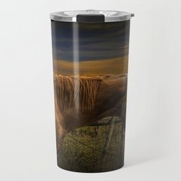 Saddle Horse on the Prairie Travel Mug