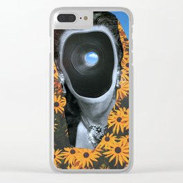 Silver White Winters That Melt Into Springs Clear iPhone Case