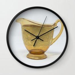 Vintage Glass Wall Clock