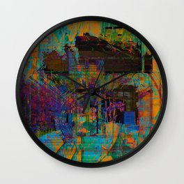 Face Melter Wall Clock