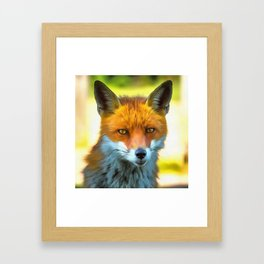 Foxy by Nature Framed Art Print