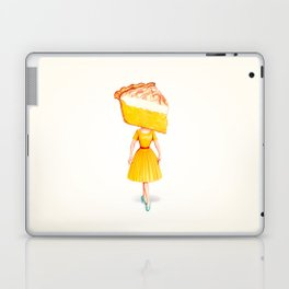 Cake Head Pin-Up - Lemon Laptop & iPad Skin