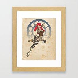 Clockwork Cutie Framed Art Print