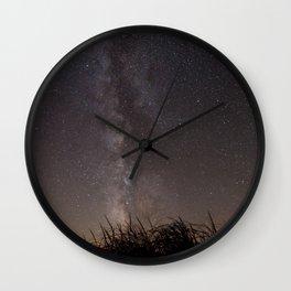 Milky Way, Sleeping Bear Dunes National Lakeshore, Michigan Wall Clock