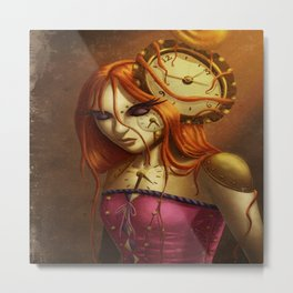 """Time After Time..."" Metal Print"