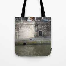 Naptime in Paris Tote Bag