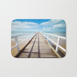 Pier sky 4 Bath Mat