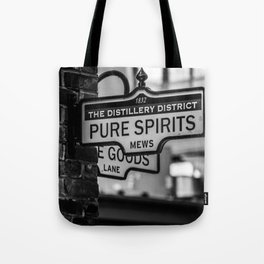 Pure Spirits only Tote Bag