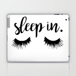 Sleep In Laptop & iPad Skin