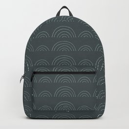 Clouds on Gray Backpack